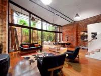 合二为一 墨尔本个性私宅的砖墙木地板魅力