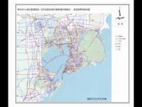 青岛市中心城区道路网规划(含专项规划和部分重要道路详细规划)--规划路网等级结构图
