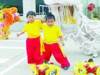 南美的中国风 舞狮团在秘鲁很抢手
