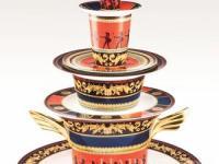 范思哲 Versace 推出全新希腊战士系列高级餐具