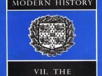 《新编剑桥世界近代史》(The New Cambridge Modern History)