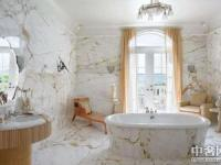 冷峻与温柔 大理石浴室赶走炎夏的闷热