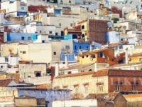 摩洛哥舍夫沙万 迷幻在蓝色精灵山城里