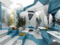 浴室设计革命!开启一段前卫与未来的沐浴体验